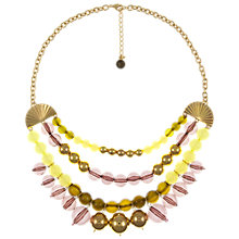 Buy Eclectica Vintage 1980s Liz Claiborne Chunky Gold Plated Necklace, Multi Online at johnlewis.com