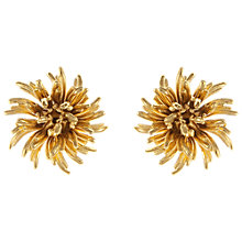Buy Eclectica Vintage 1960s Monet Gold Plated Clip-On Earrings, Gold Online at johnlewis.com