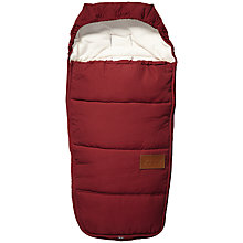 Buy Joolz Day Earth Footmuff, Lobster Red Online at johnlewis.com