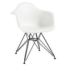 Buy Vitra Eames DAR Armchair Online at johnlewis.com