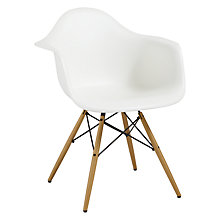 Buy Vitra Eames DAW 43cm Armchair Online at johnlewis.com