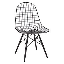 Buy Vitra Eames DKW Wire Chair Online at johnlewis.com