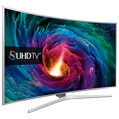 Samsung UE65JS9000 Curved 4K SUHD 3D Smart TV, 65