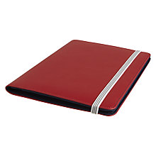 Buy John Lewis A5 Folio Binder, Plain Red Online at johnlewis.com