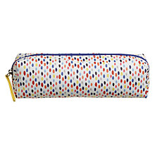 Buy John Lewis Colour Dots Pencil Case, Small Online at johnlewis.com