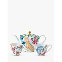Buy Wedgwood Cuckoo And Butterfly Bloom Teapot, Sugar Bowl & Creamer Online at johnlewis.com
