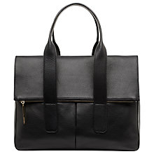 Buy Whistles Fold Down Tote Bag, Black Online at johnlewis.com