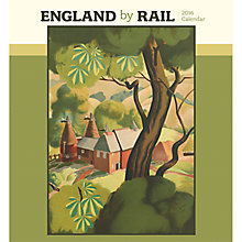 Buy England by Rail 2016 Calendar Online at johnlewis.com