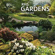Buy RHS Floral Gardens Square 2016 Calendar Online at johnlewis.com
