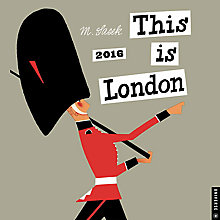 Buy Universe This Is London Square 2016 Calendar Online at johnlewis.com