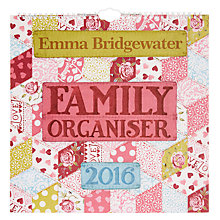 Buy Emma Bridgewater 2016 Family Organiser Online at johnlewis.com