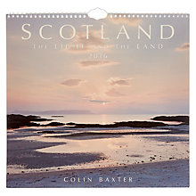Buy Colin Baxter Photography Scotland Light and Land 2016 Calendar Online at johnlewis.com