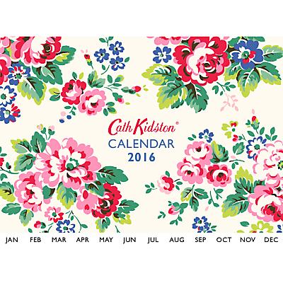 Cath Kidston 2016 Wall Calendar