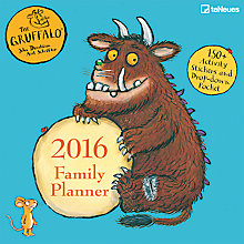 Buy teNeues Gruffalo 17 Month Family Planner Online at johnlewis.com