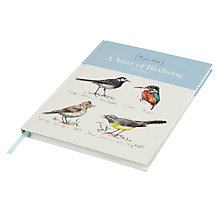Buy Madeleine Floyd Year of Birdsong 2016 Desk Diary Online at johnlewis.com