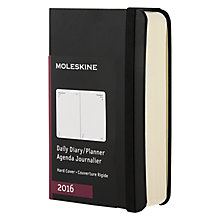 Buy Moleskine A7 2016 Diary Online at johnlewis.com