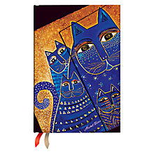 Buy Paperblanks Mediterranean Cats 2016 Diary, Mini Online at johnlewis.com