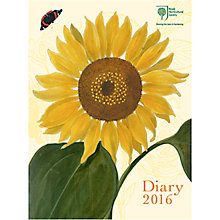 Buy Royal Horticultural Society 2016 Desk Diary Online at johnlewis.com
