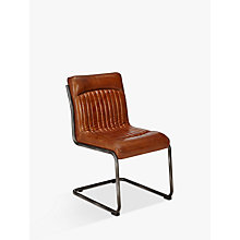 Buy Hudson Living Capri Leather Chair Online at johnlewis.com