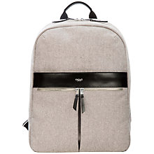 "Buy Knomo Beauchamp Backpack for Laptops up to 14"" Online at johnlewis.com"