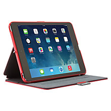 Buy Speck Stylefolio Case for iPad mini 1, 2 & 3, Poppy Red & Nickel Grey Online at johnlewis.com