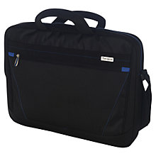 "Buy Targus Prospect Topload Bag for Laptops up to 15.6"", Black Online at johnlewis.com"