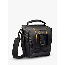 Buy Lowepro Adventura SH 120 II Camera Shoulder Bag for DSLRs, Black Online at johnlewis.com