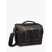 Buy Lowepro Adventura SH 160 II Camera Shoulder Bag for DSLRs, Black Online at johnlewis.com