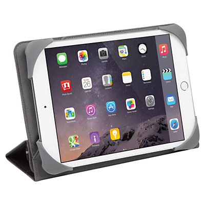 "Image of Targus Fit N' Grip Universal 360° Rotational Case for 7-8"" Tablets, Black"