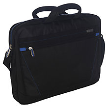 "Buy Targus Prospect Topload Bag for Laptops up to 17"", Black Online at johnlewis.com"