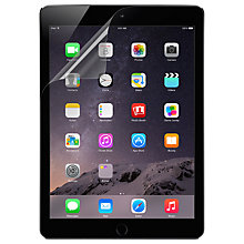 Buy Belkin TrueClear Transparent Screen Protector 2-Pack for iPad Air 2 Online at johnlewis.com