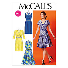 Buy McCall's Women's Dress Sewing Pattern, 6959 Online at johnlewis.com