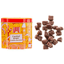 Buy Artisan du Chocolat Dark Chocolate Coated Ginger, 125g Online at johnlewis.com