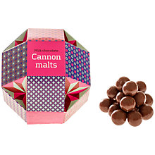 Buy Artisan du Chocolat Milk Chocolate Cannon Malts, 150g Online at johnlewis.com
