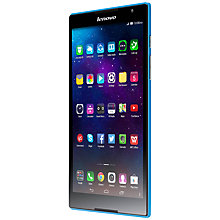 "Buy Lenovo Tab S8 Tablet, Intel Atom, Android, 8"", Wi-Fi, 16GB, Blue Online at johnlewis.com"