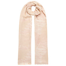 Buy Whistles Bamboo Print Scarf, Nude Online at johnlewis.com
