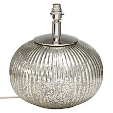 Buy John Lewis Vesta Round Lamp Base Online at johnlewis.com