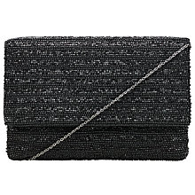 Buy John Lewis 100's & 1000's Clutch Bag, Black Online at johnlewis.com