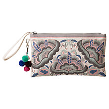 Buy East Embroidered Clutch Bag Online at johnlewis.com