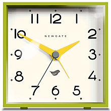 Buy Newgate Cubic II Alarm Clock Online at johnlewis.com