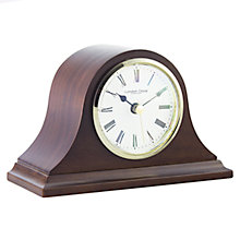 Buy London Clock Company Solid Wood Mantel Clock, Small Online at johnlewis.com