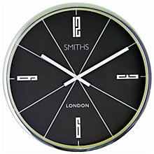 Buy Lascelles Smiths Downing Wall Clock Online at johnlewis.com