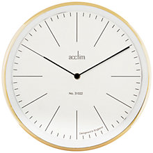 Buy Acctim Evo Wall Clock Online at johnlewis.com