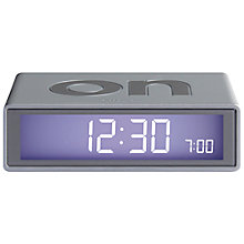 Buy Lexon Flip Alarm Clock Online at johnlewis.com