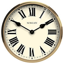 Buy Newgate Parliament Clock, Dia. 40cm Online at johnlewis.com