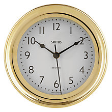 Buy Smiths Marine Solid Brass Wall Clock Online at johnlewis.com