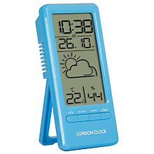 Buy London Clock Company Mini Weather Clock Online at johnlewis.com