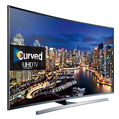 Samsung UE48JU7500 Curved LED 4K Ultra HD 3D Smart TV, 48 with Freeview HD/ freesat HD and Built-in Wi-Fi