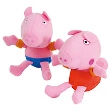 Buy Zoggs Peppa & George Pig Soakers, Pink Online at johnlewis.com