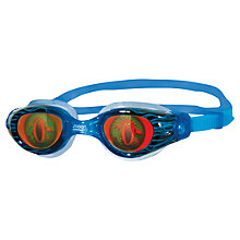Buy Zoggs Sea Demon Junior Swimming Goggles, Blue Online at johnlewis.com